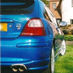 X-POWER EXHAUST SYSTEM - FITTED BY MG SPORT AND RACING